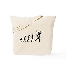 Evolution ballet Tote Bag