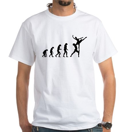 Evolution ballet White T-Shirt