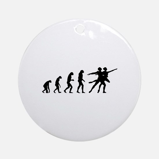 Evolution ballet Ornament (Round)