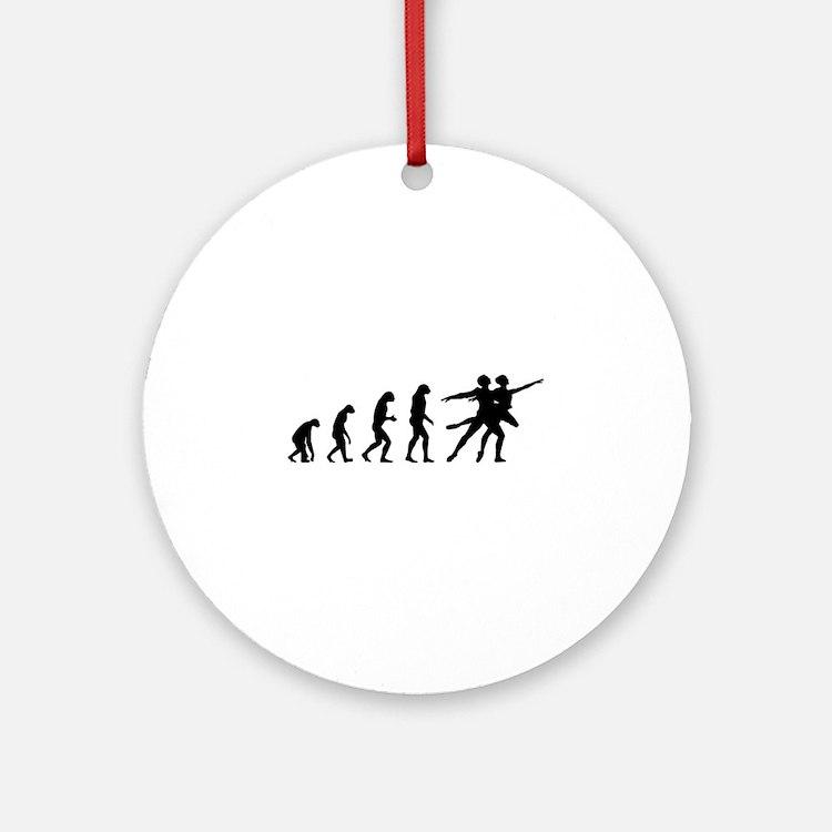 Evolution ballet Ornament (Round)
