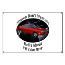 Plymouth Duster Banner