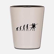 Evolution ballet Shot Glass