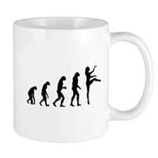 Evolution ballet Mug