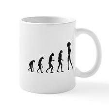 Evolution cheerleading Mug