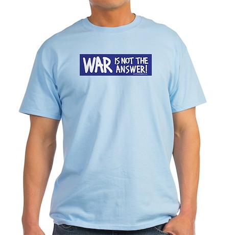 War Peace Light T-Shirt