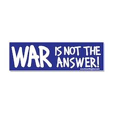 War Peace Car Magnet 10 x 3