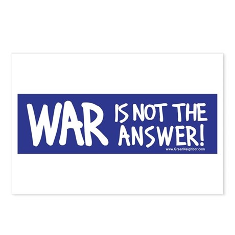 War Peace Postcards (Package of 8)