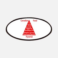 Canadian Food Pyramid Patches