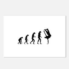 Evolution bboy Postcards (Package of 8)