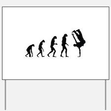 Evolution bboy Yard Sign