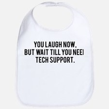 Tech Support Bib