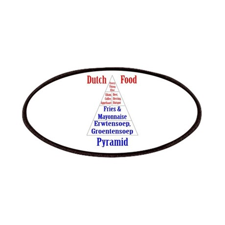 Dutch Food Pyramid Patches