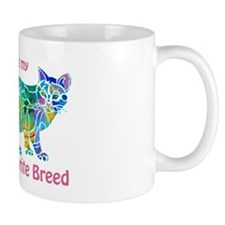 RESCUE is Favorite Breed CATS Small Small Mug