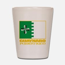 Guaynabo Flag Shot Glass