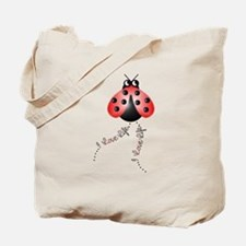 Ladybird Trails 1 Tote Bag