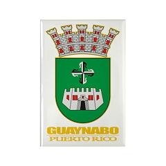 Guaynabo COA Rectangle Magnet