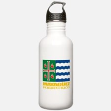 Mayaguez Flag Water Bottle