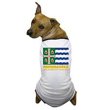 Mayaguez Flag Dog T-Shirt