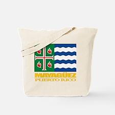Mayaguez Flag Tote Bag