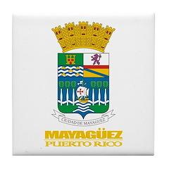 Mayaguez COA Tile Coaster