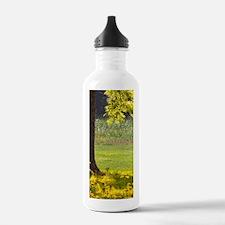Rural Summer Morning Sports Water Bottle