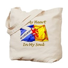 Scotland In My Heart Tote Bag