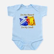 Scotland in my heart Infant Bodysuit