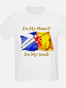 Scotland in my heart T-Shirt