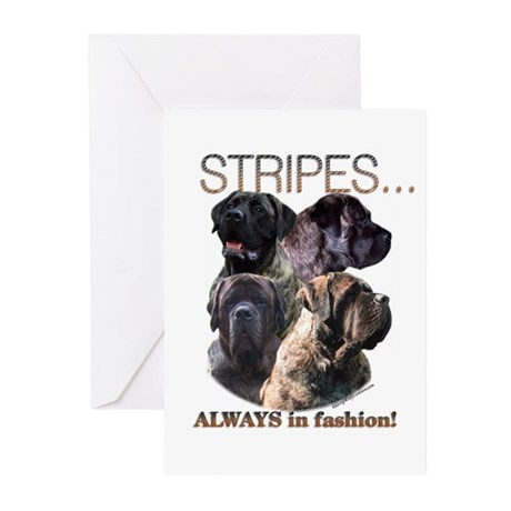 Mastiff 80 Greeting Cards (Pk of 10)