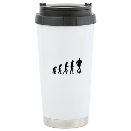 Evolution soocer Stainless Steel Travel Mug