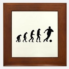 Evolution soocer Framed Tile