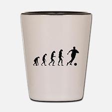 Evolution soocer Shot Glass