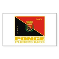 Ponce Flag Stickers