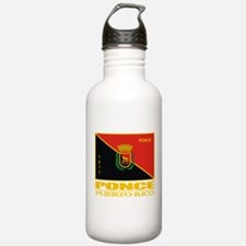 Ponce Flag Water Bottle