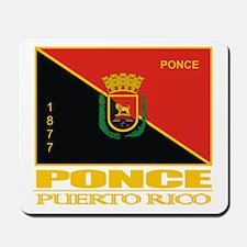 Ponce Flag Mousepad