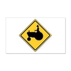 Tractor Sign 22x14 Wall Peel
