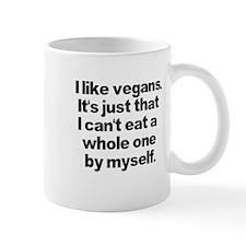 Anti Vegan Shirt Mug