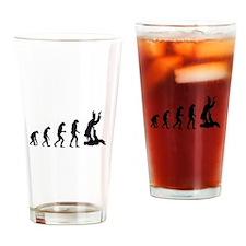 Evolution karate Drinking Glass