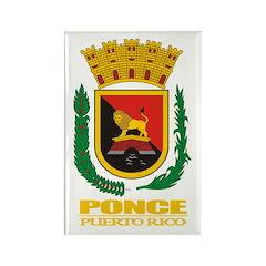 Ponce COA Rectangle Magnet