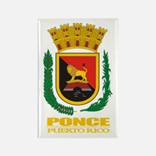 Ponce COA Rectangle Magnet