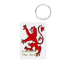 Scotland the Brave Keychains