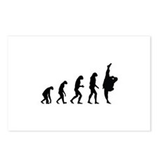 Evolution karate Postcards (Package of 8)