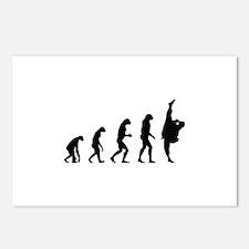 Evolution karate Postcards (Package of 8)