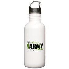 Husband Hero3 - ARMY Water Bottle