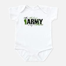 Husband Hero3 - ARMY Infant Bodysuit