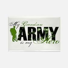 Grandson Hero3 - ARMY Rectangle Magnet