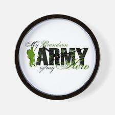 Grandson Hero3 - ARMY Wall Clock