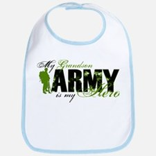 Grandson Hero3 - ARMY Bib