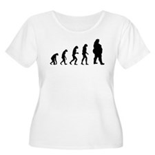 Evolution obese T-Shirt