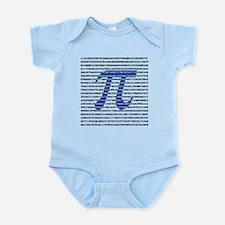 1000 Digits of Pi Infant Bodysuit